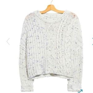 Nwot! Free People On Your Side Pullover Size L